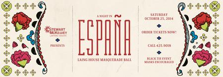 Laing House Masquerade Ball, A Night in España