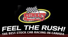 Sunset Speedway logo