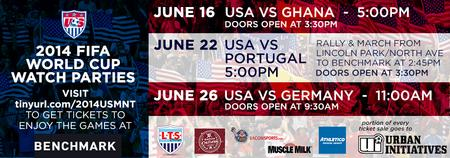 2014 FIFA World Cup Watch Parties -  USMNT Group G...