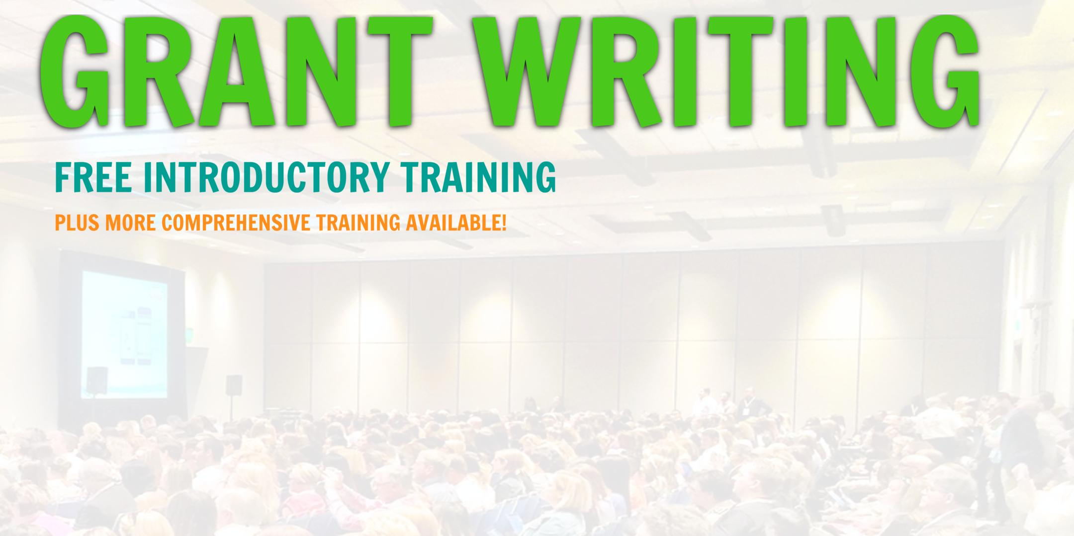 Grant Writing Introductory Training... Burbank, California