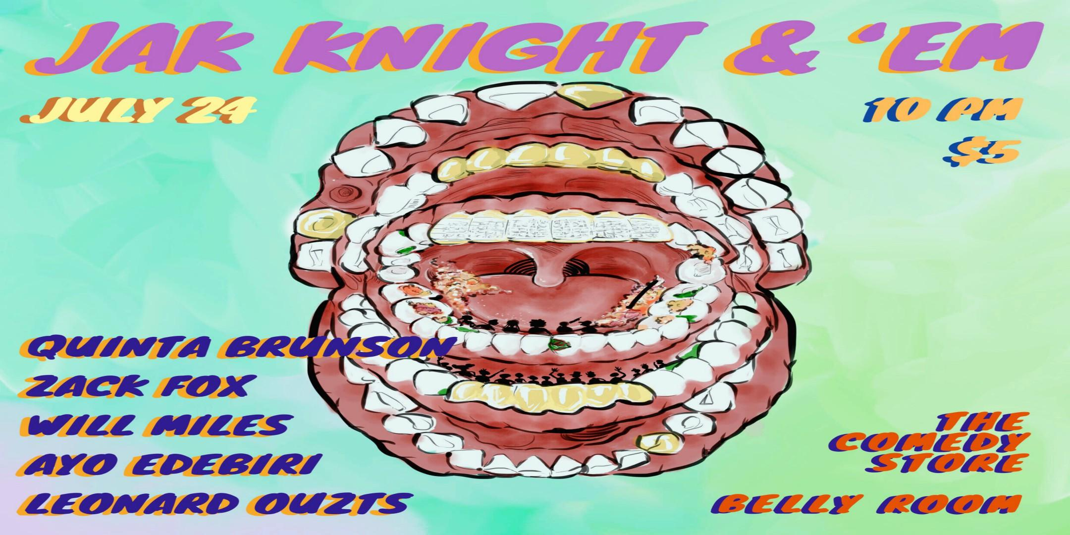 Jak Knight &