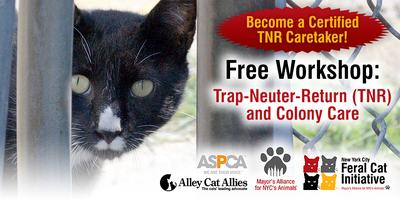 c20571b7878a05 Trap-Neuter-Return (TNR) and Colony Care Workshop Registration, Sat, Aug  17, 2019 at 11:00 AM | Eventbrite