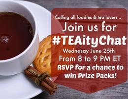 #TEAityChat: Foodies Unite – Tea and Cooking