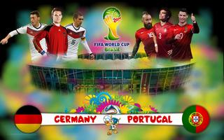 Germany vs. Portugal World Cup 2014 in Brazil