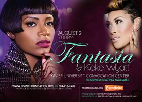 Benefit Concert featuring Fantasia & KeKe Wyatt for...