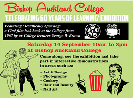 Celebrating 60 years of learning at Bishop Auckland...