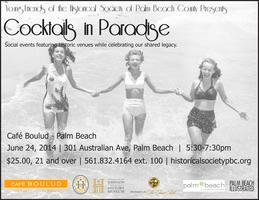 Cocktails in Paradise: Café Boulud- Palm Beach