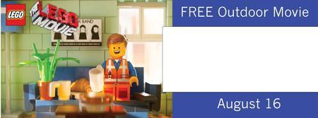 Afton Ridge Free Outdoor Movie-The Lego Movie