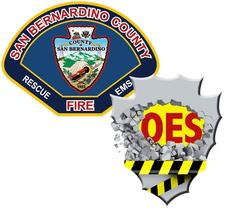 San Bernardino County Fire - Office of Emergency Services logo