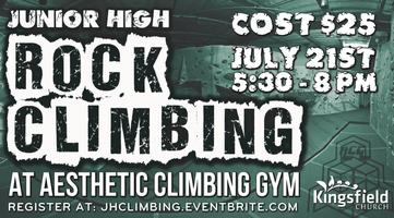 Jr. High Climbing