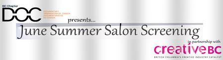 June Summer Salon Screening with Creative BC