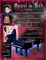 4th of July Piano and Dance Concert.  Light...