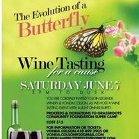 EVOLUTION OF A BUTTERFLY: Wine Tasting for a cause2