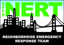SFFD Neighborhood Emergency Response Team (NERT) logo