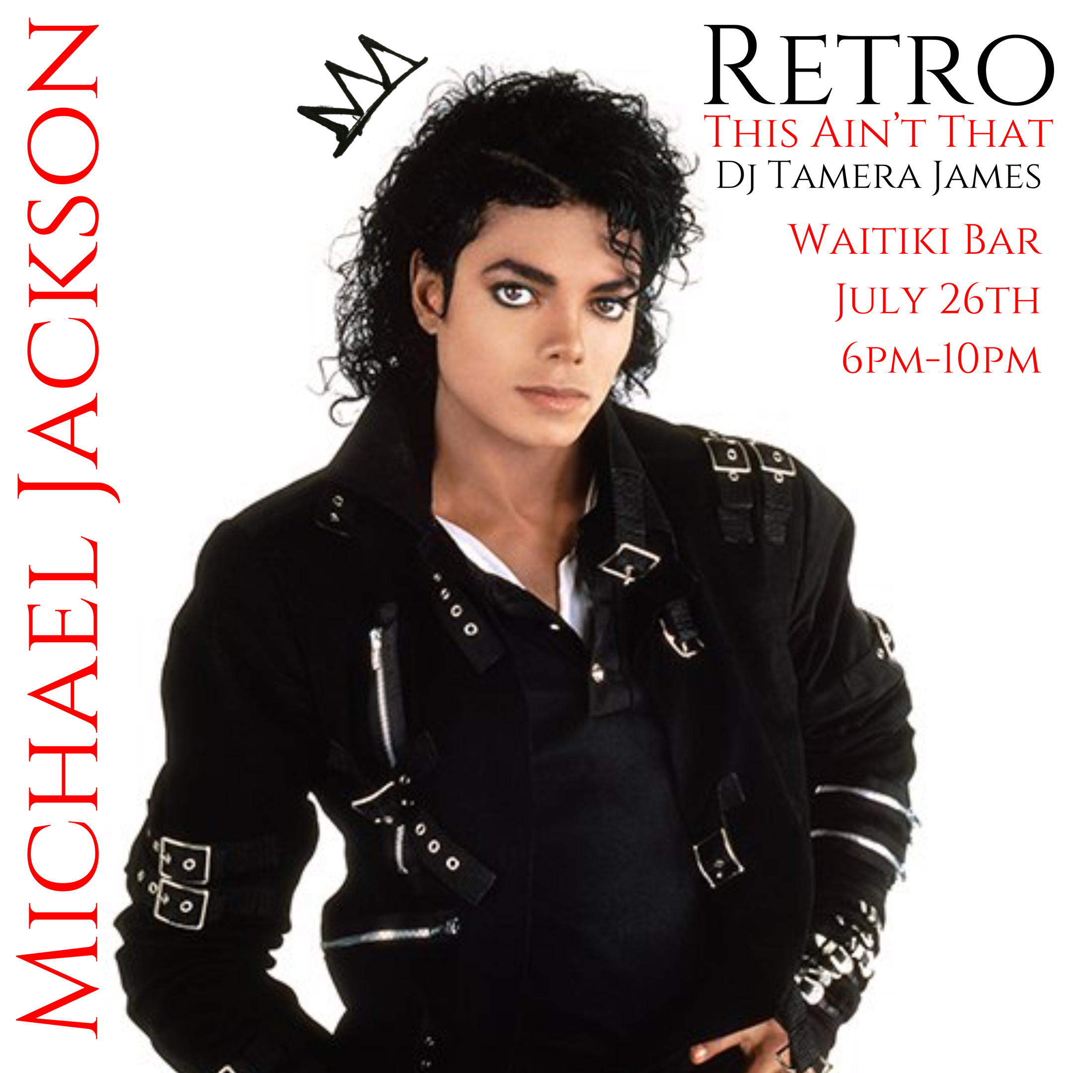 Retro Happy Hour Presents: The King Of Pop -Michael Jackson
