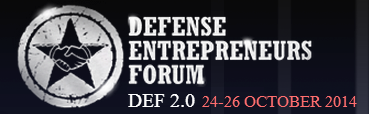 Defense Entrepreneurs Forum 2014 (DEF 2.0)