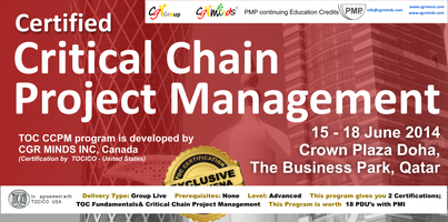 TOCICO-CCPM Certified Critical Chain Project Management