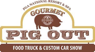 PGA Gourmet Pig Out Food Truck & Custom Car Show