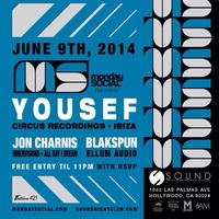 06/09 Monday Social at Sound YOUSEF FREE VIP List.