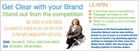 Get Clear with your Brand: Learn how to Stand Out from...