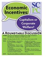 Economic Incentives: Capitalism or Corporate Welfare?