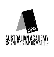 The Australian Academy of Cinemagraphic Makeup logo