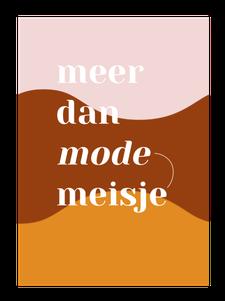 Meer dan Modemeisje logo