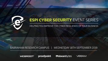 Espi Cyber Security Event Tickets, Wed 18 Sep 2019 at 08:45