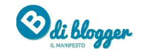 """B di Blogger """"Il manifesto"""""""