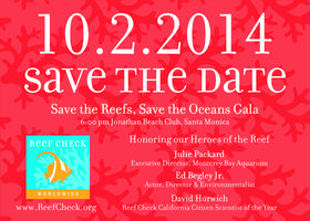 Reef Check's Save the Reefs, Save the Oceans Gala