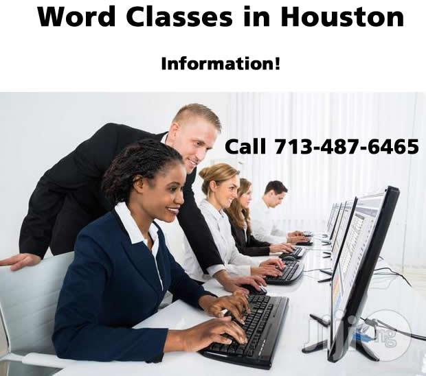 Microsoft Word Training in Houston, Texas - Information only! Call 7/487-6465