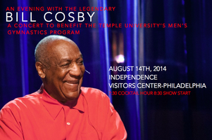 An Evening with Bill Cosby: to SAVE the Temple Men's...