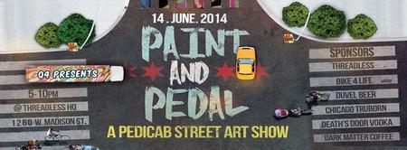 Paint & Pedal: A Pedicab Street Art Show