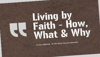 John Oakes - Living by Faith