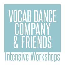 Alesandra Seutin/Vocab Dance Company  logo