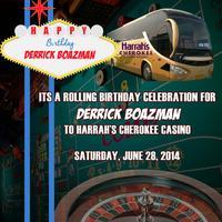 Derrick Boazman Birthday Bus
