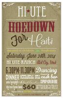 Hi-Ute Hoedown for Haiti! A fundraiser for the Devoted...