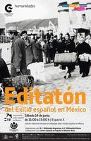 Primer Editatón del Exilio Republicano en México