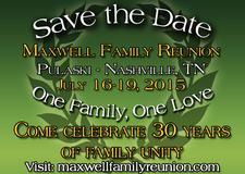 Maxwell Family Reunion  logo