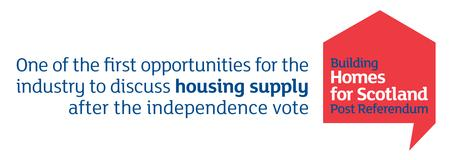 Building Homes for Scotland Post-Referendum