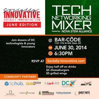 Socially Innovative :Tech Networking Mixer w/ NOVA...