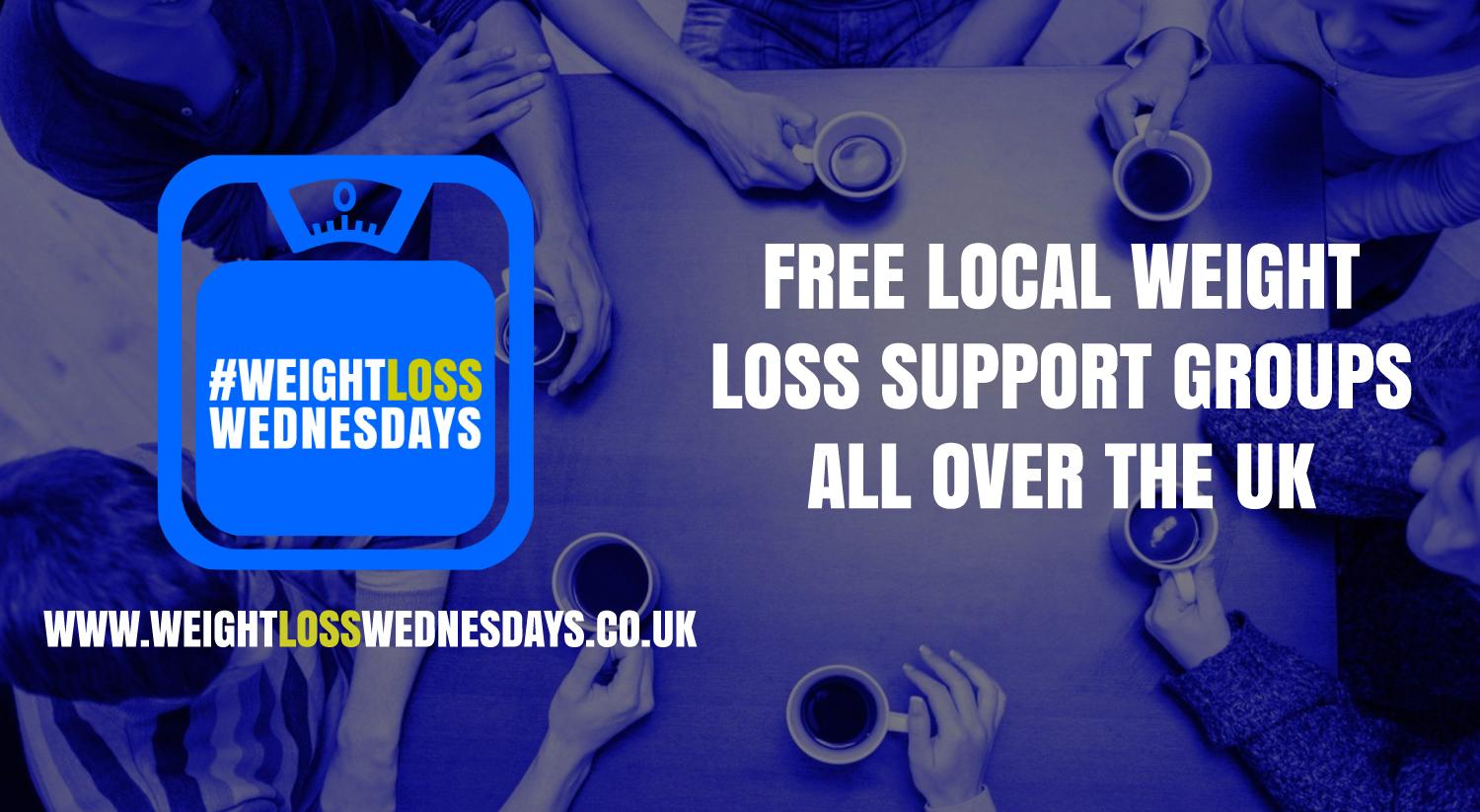 WEIGHT LOSS WEDNESDAYS! Free weekly support group in Paisley