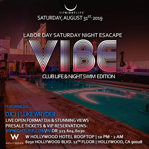 VIBE W Rooftop - Labor Day Weekend Pool Party