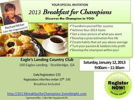 2013 Breakfast for Champions