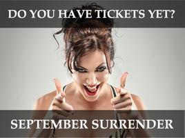 September Surrender Dallas, Texas September 11-14th...