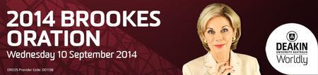 2014 Brookes Oration