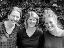 Elise Goosens, Djoeke Delnooz en Marleen Jannink logo