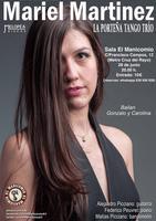 Concierto de Mariel Martínez & La Porteña Tango Trío