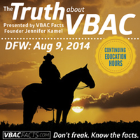 "Dallas-Ft. Worth ""Truth About VBAC"" Workshop with Jen..."