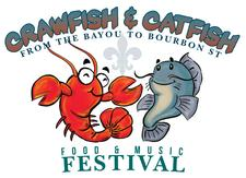 Crawfish & Catfish Festival logo